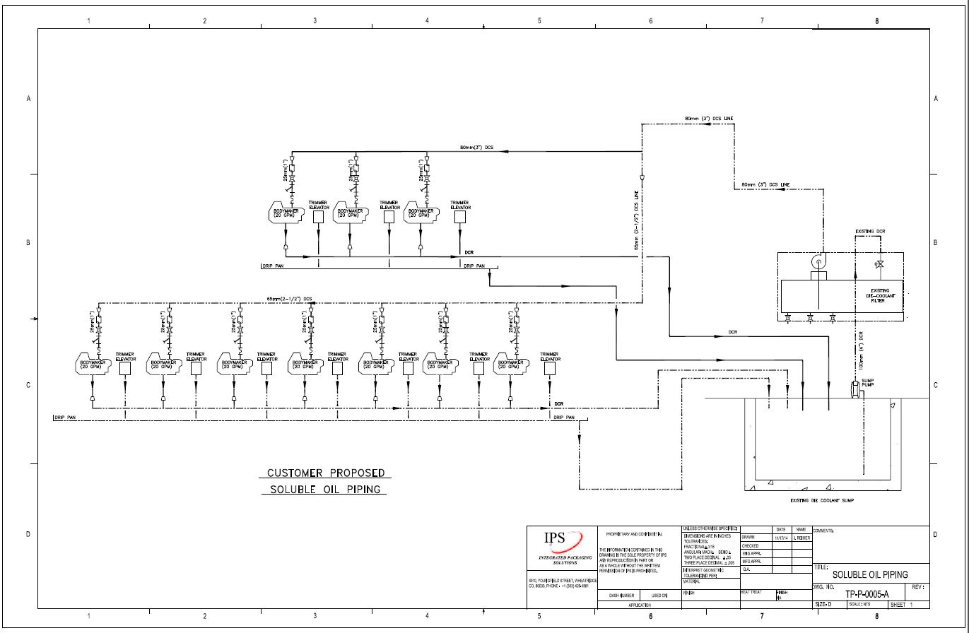 P Id Pipe Instrumentation Design Support Integrated